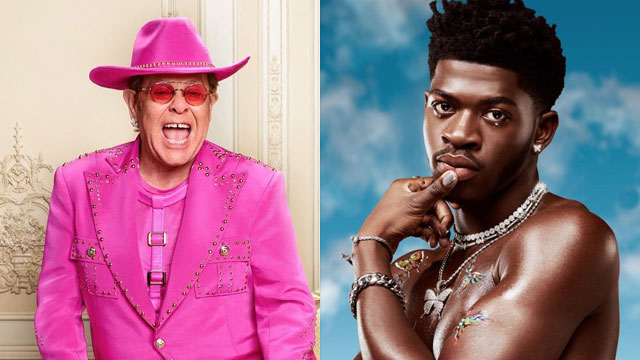 """Elton John recently told BBC Radio he sees Lil Nas X as a """"seismic shift"""" in how hip-hop now has to view gay artists."""