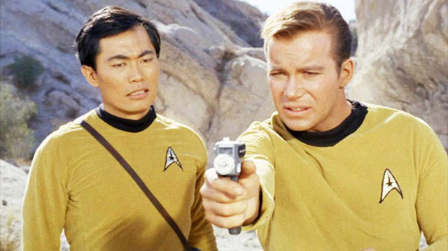 """George Takei shaded his former cast mate William Shatner as an """"unfit guinea pig"""" after Shatner's space flight on Wednesday."""